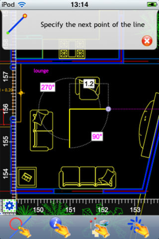 CARTOMAP CAD for iOS picture