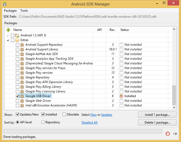 Google Android SDK picture