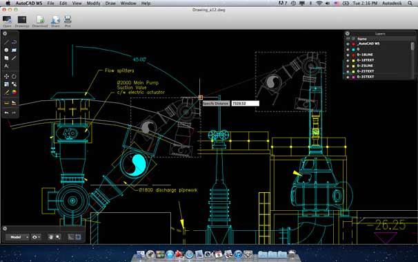 AutoCAD WS for Mac picture