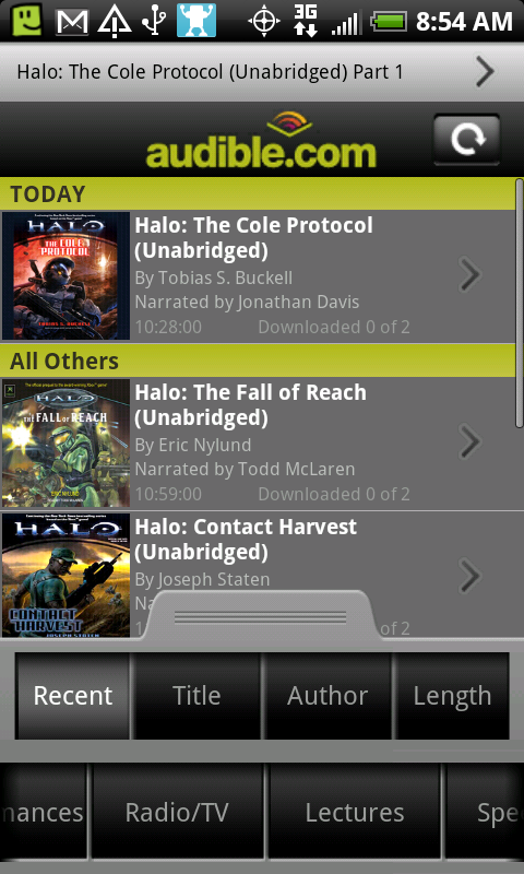 Audible for Android picture