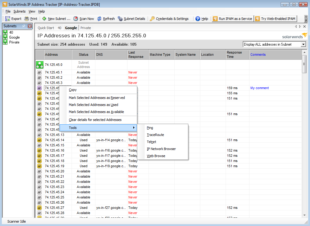 IP Address Tracker picture or screenshot