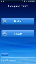 Backup and Restore picture