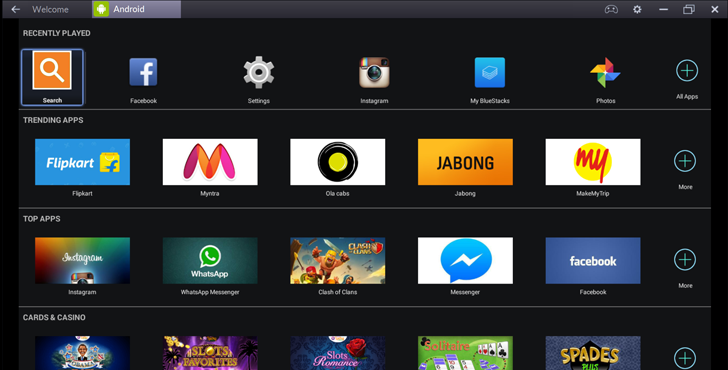 BlueStacks App Player for Windows picture