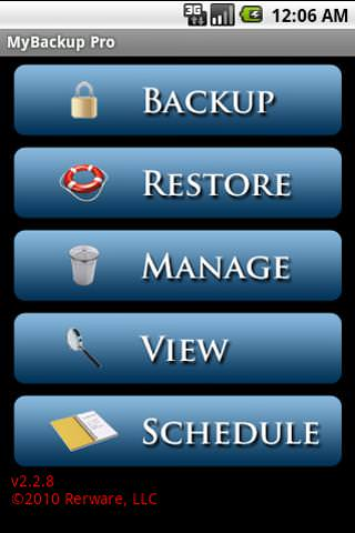 MyBackup Pro picture