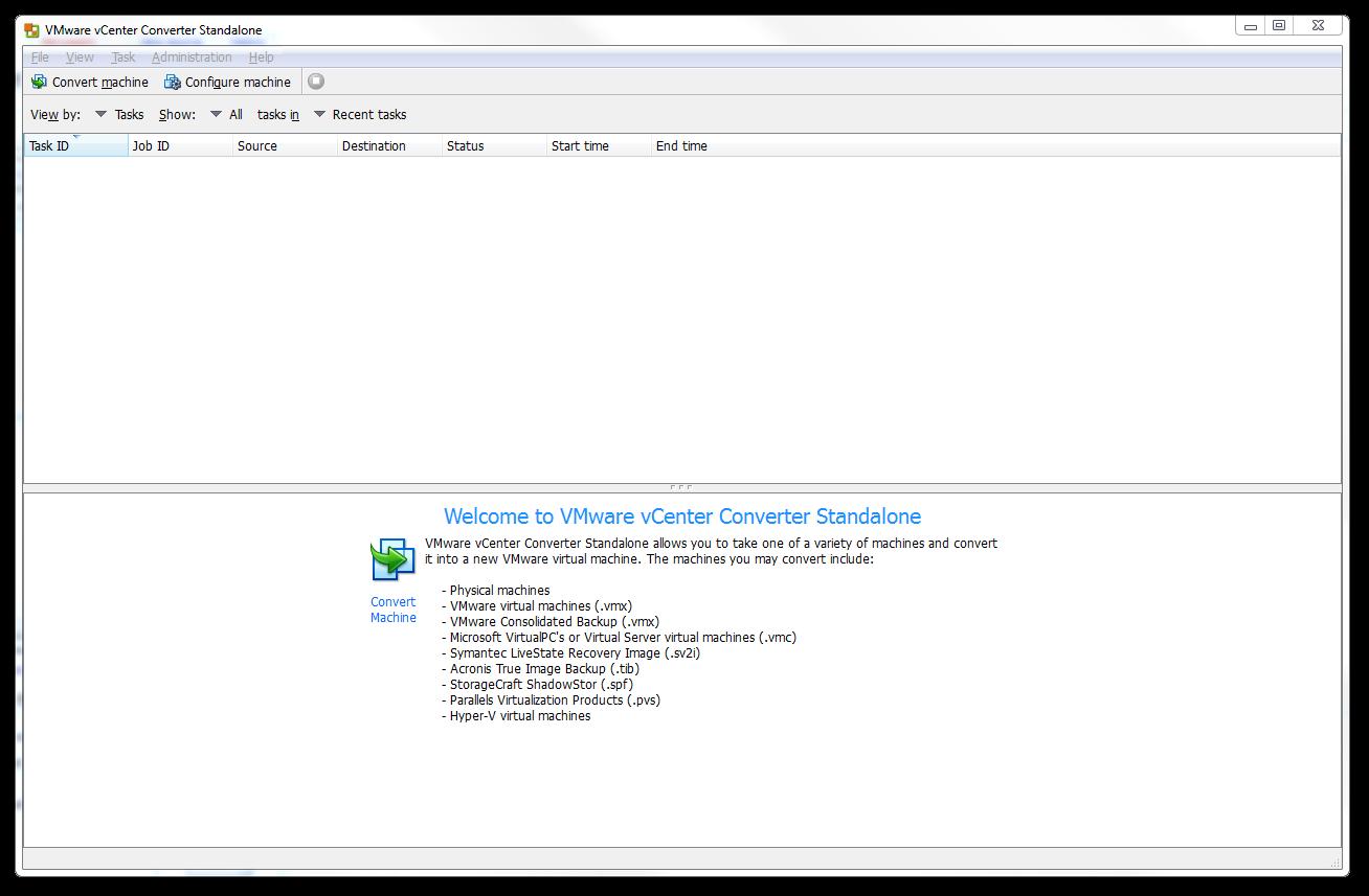vmware vcenter converter standalone