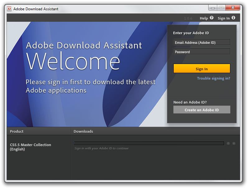 Adobe Download Assistant picture