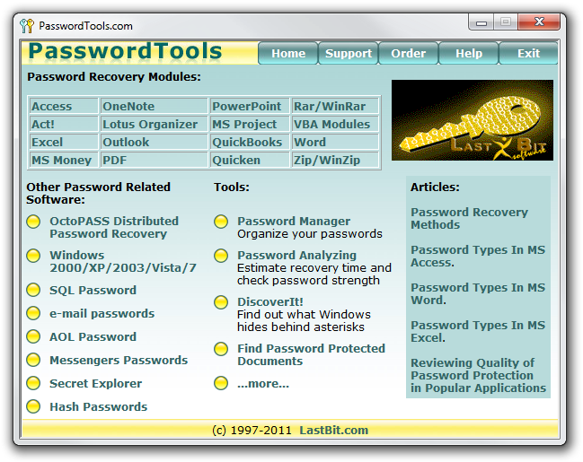PasswordTools picture or screenshot