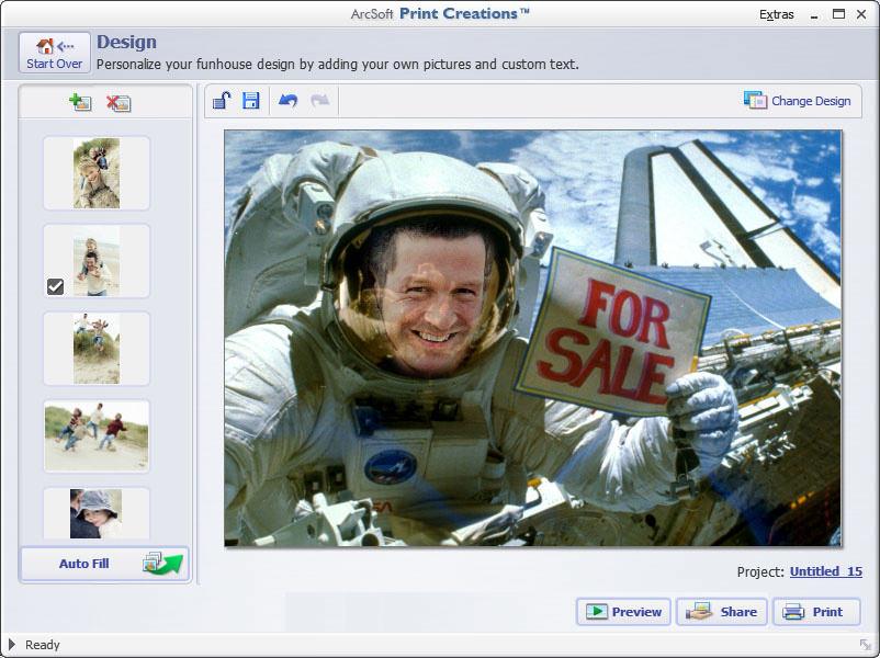 ArcSoft Print Creations picture or screenshot