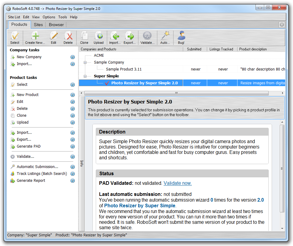 RoboSoft picture or screenshot