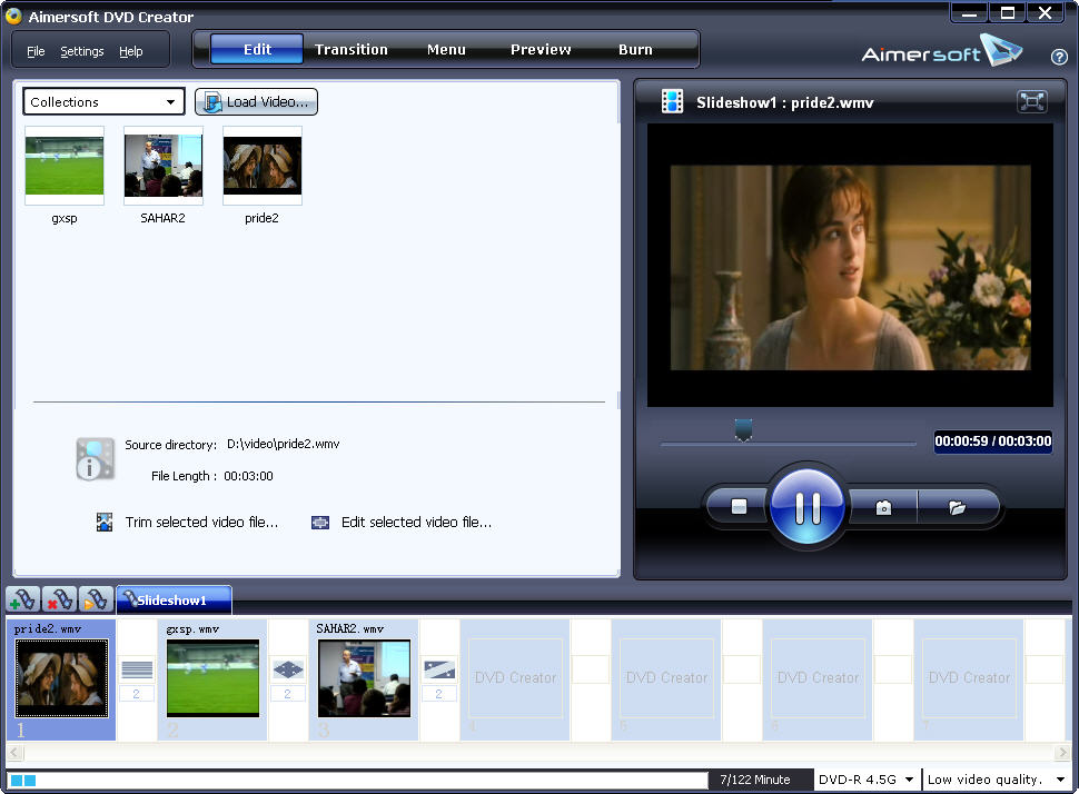 Aimersoft DVD Creator for Windows picture