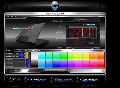 Alienware Command Center picture or screenshot