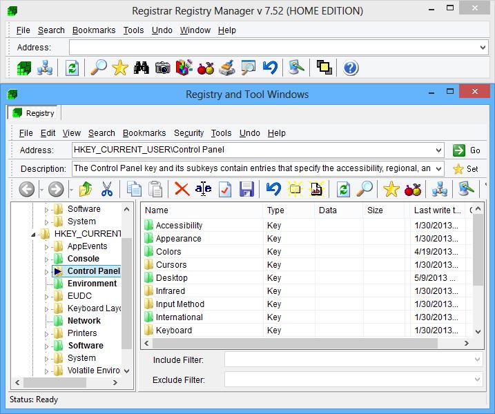 Registrar Registry Manager picture or screenshot
