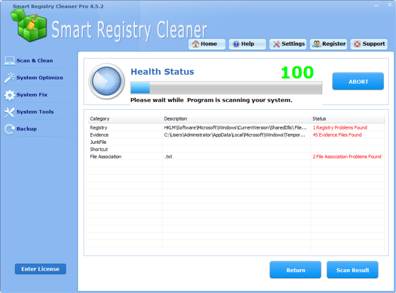 Smart Registry Cleaner picture