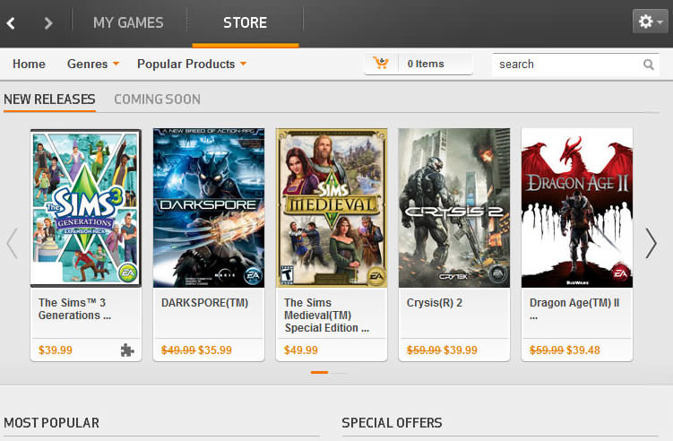 Origin Client picture