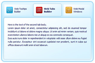 Likno Web Tab Builder picture or screenshot