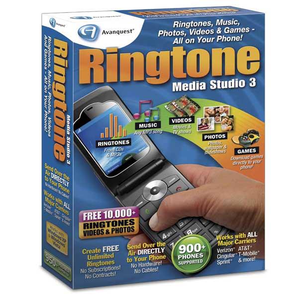 Ringtone Media Studio picture or screenshot