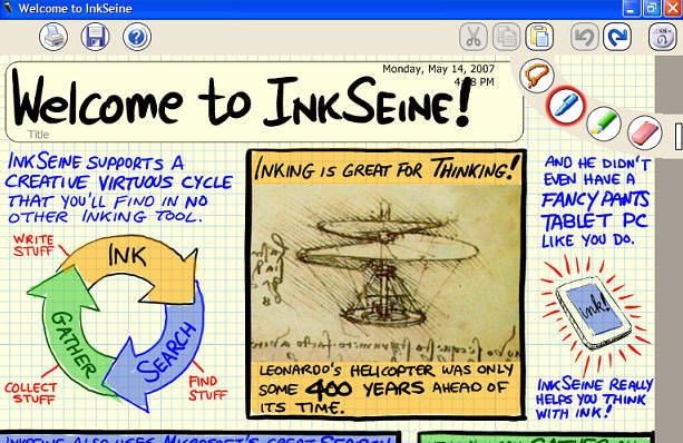 InkSeine picture or screenshot