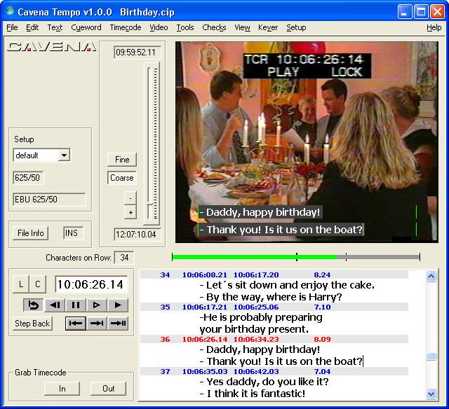 Tempo picture or screenshot