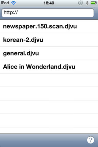 file extension djvu