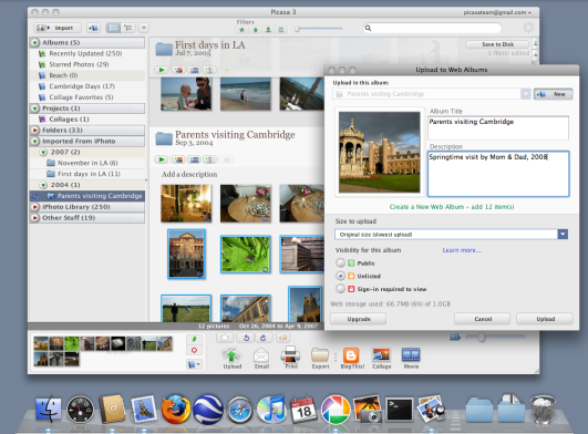 Google Picasa for Mac picture