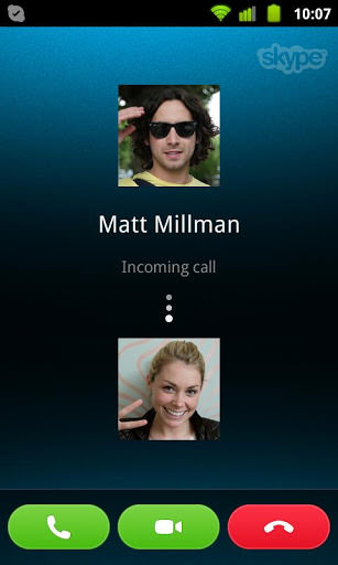 Skype for Android picture