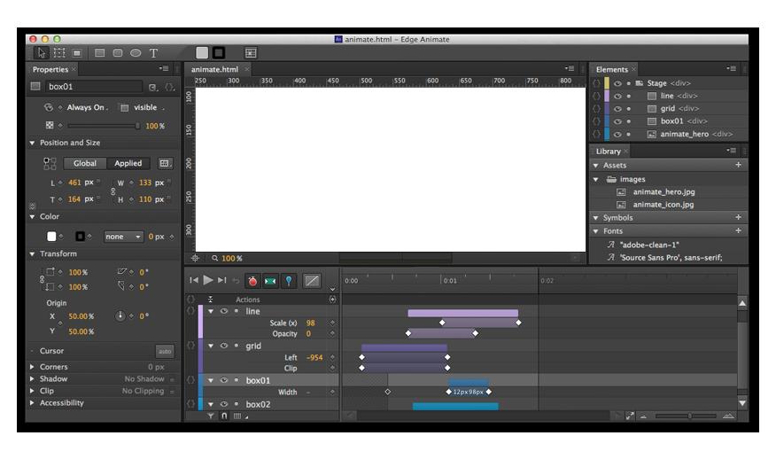 Adobe Edge Animate File Extensions