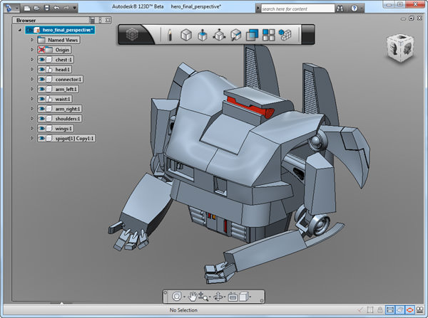 Autodesk 123D picture or screenshot