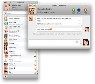 ICQ for Mac picture
