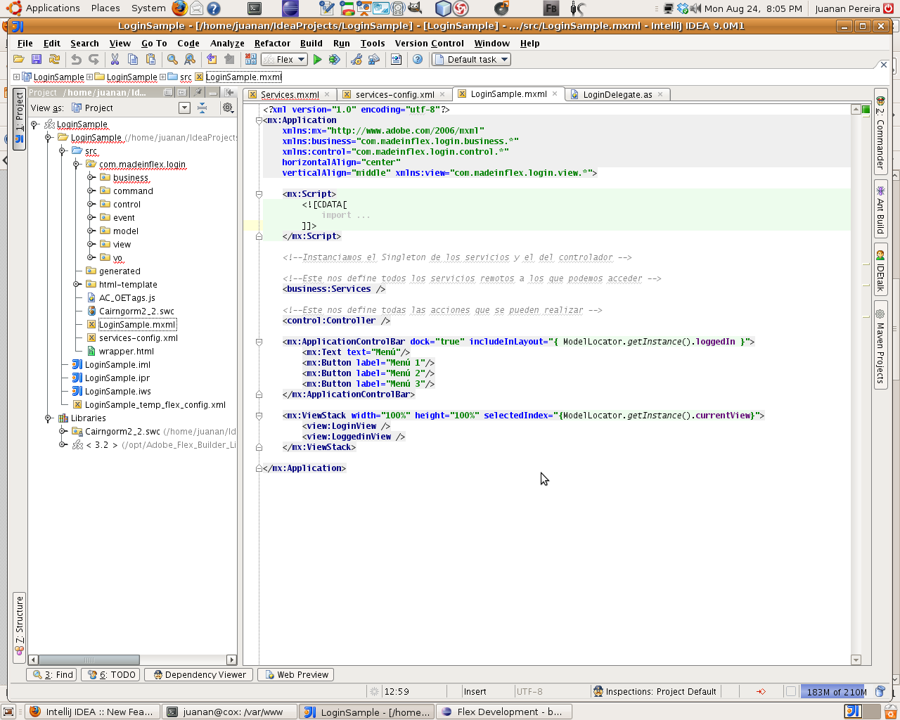 IntelliJ IDEA for Linux picture