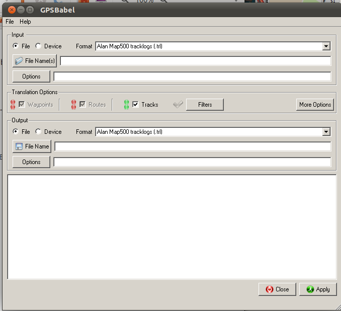 GPSBabel for Linux picture