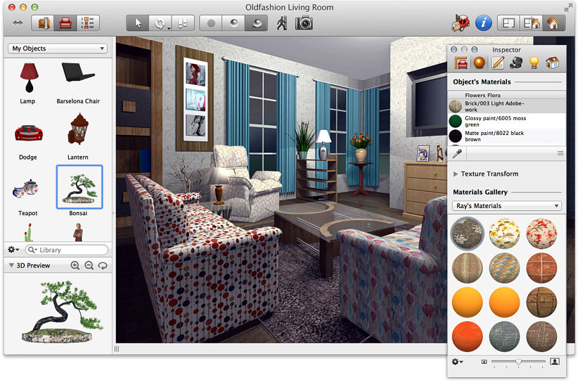 Live Interior 3D Works With The Following File Extensions
