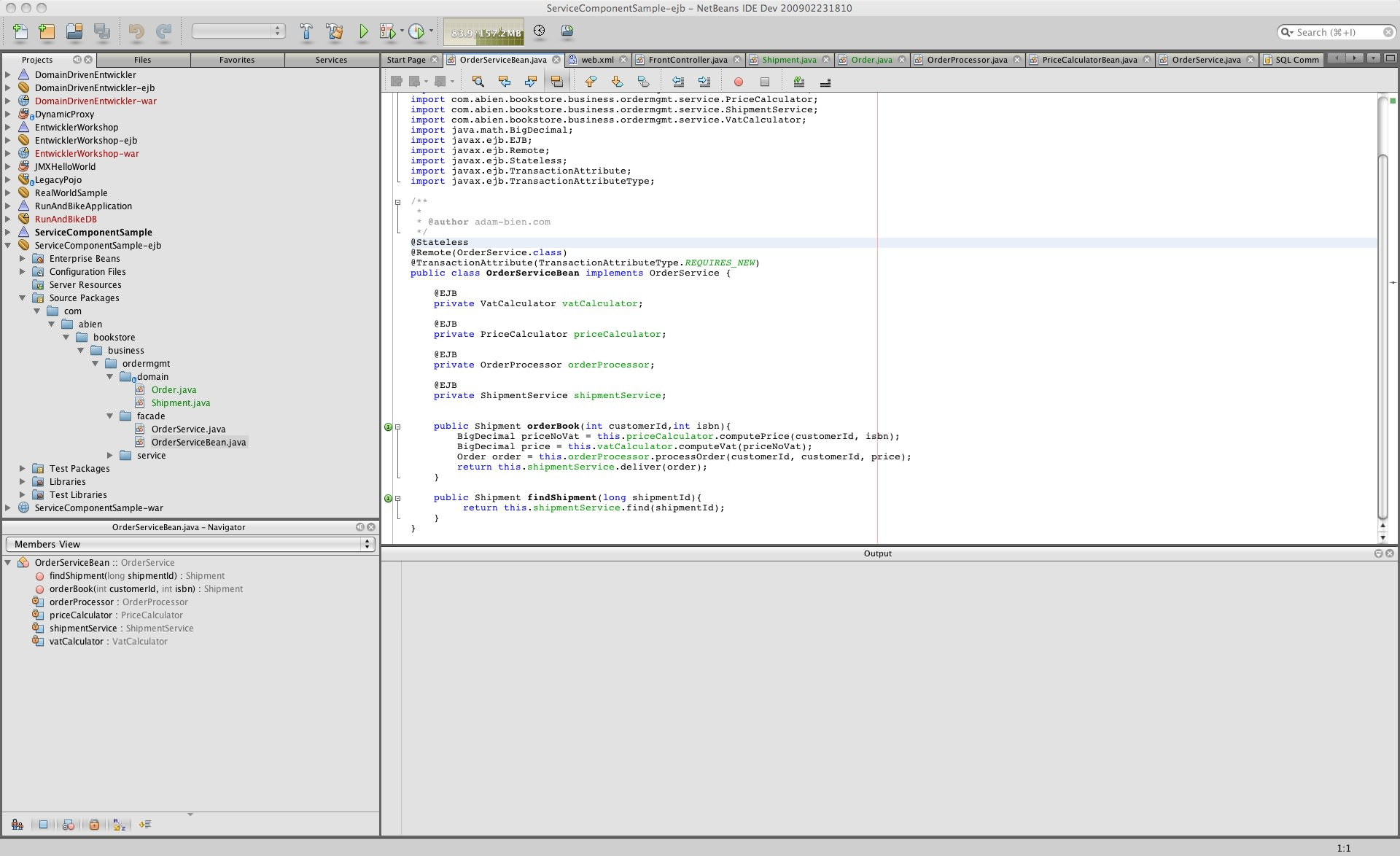 NetBeans for Mac picture