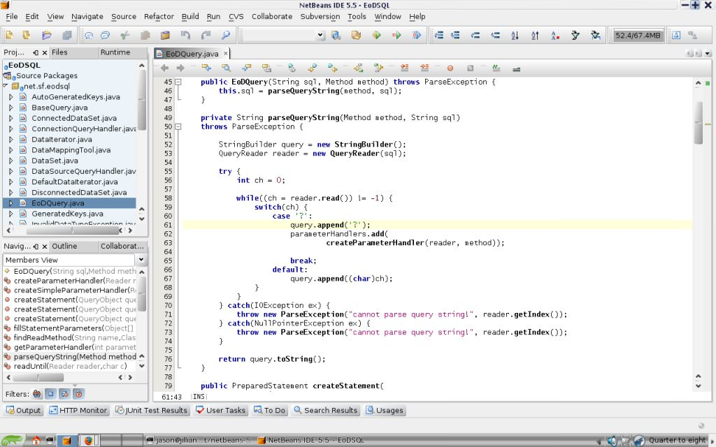NetBeans for Linux picture