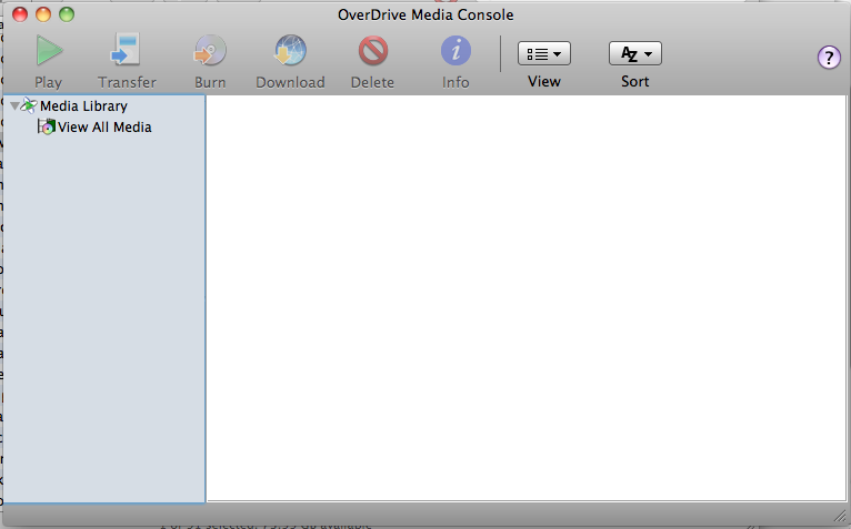OverDrive Media Console for Mac picture