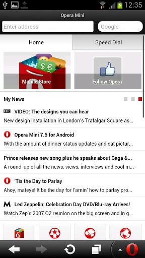 Opera Mini for Android picture