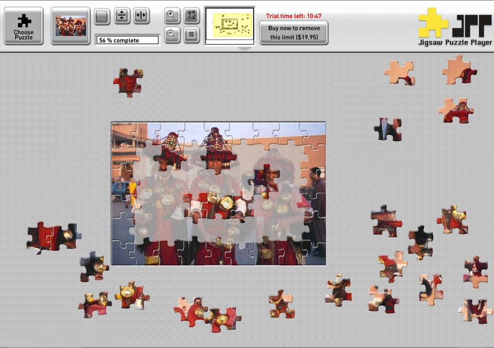 Jigsaw Puzzle Player for Mac picture or screenshot