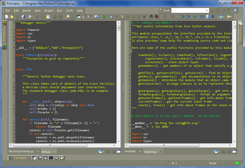PyScripter picture or screenshot