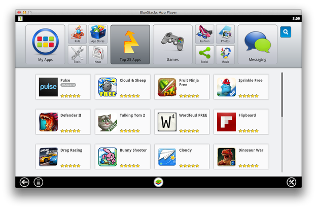 BlueStacks App Player for Mac picture