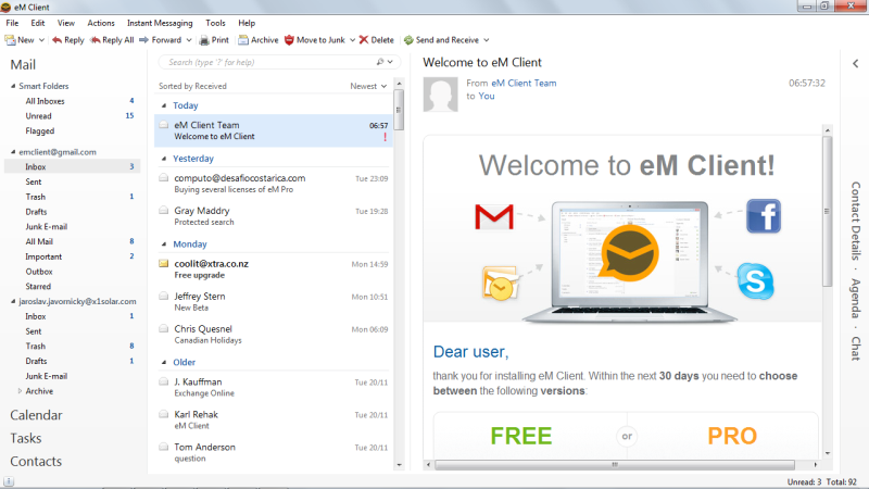 A DAT file you receive as an email attachment usually comes in the form of a winmail.dat or ATT0001.dat file. These types of DAT files are probably malformed attachments from a Microsoft email client like Outlook, Outlook Express, Windows Live Mail, or Microsoft Exchange.