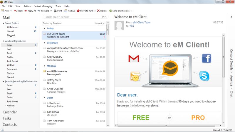 Em Client picture or screenshot