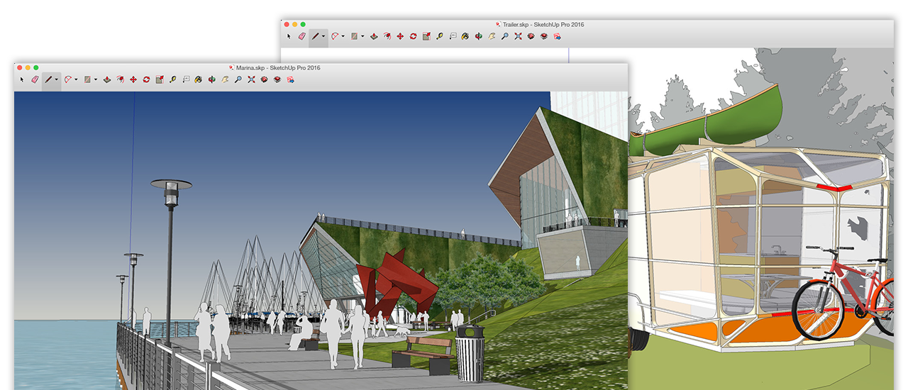SketchUp for Mac picture