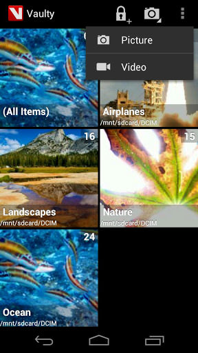 Vaulty for Android picture