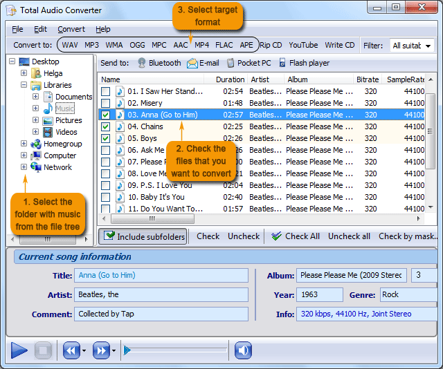 Total Audio Converter picture