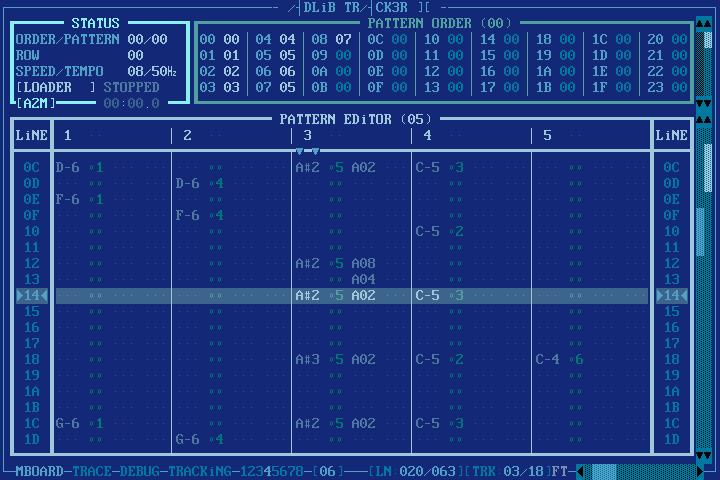 Adlib Tracker II picture or screenshot