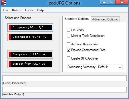 packJPG picture or screenshot