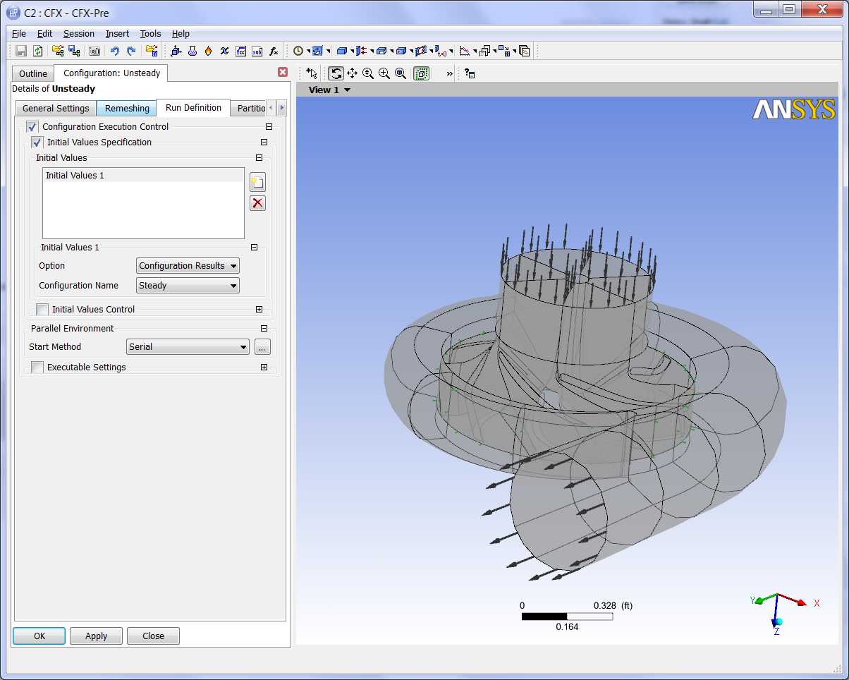 ANSYS CFX picture or screenshot