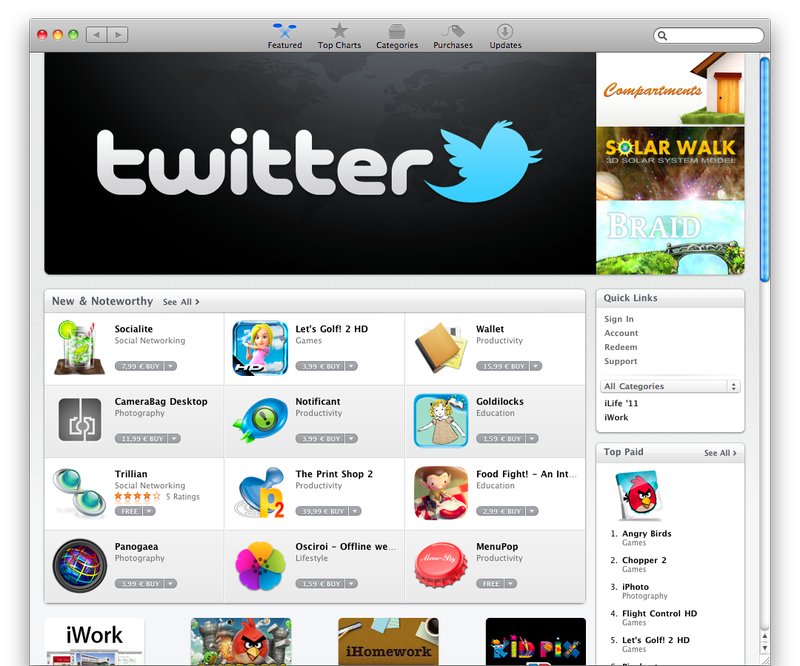 How to search in Mac App Store by the file extension