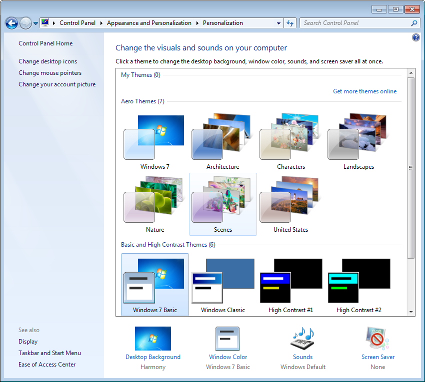 Windows Xp Theme File Software: How To Create And Customize Themes In Windows 7