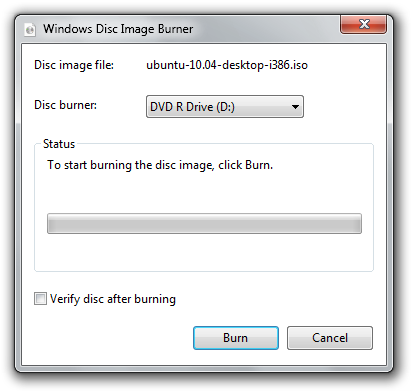 How To Burn Iso Disk Image In Windows