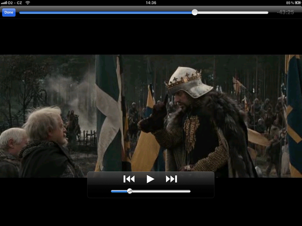 VLC Media Player for iPad playback